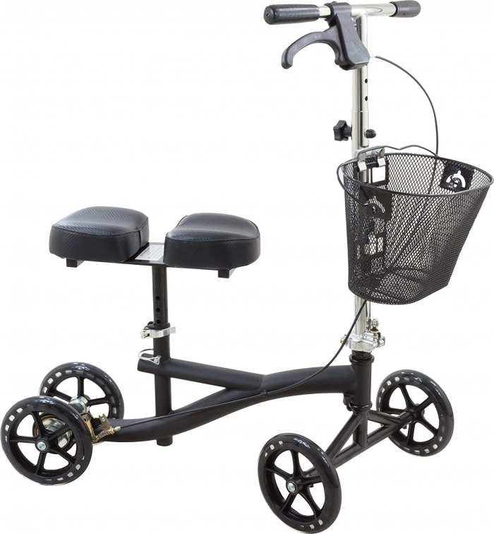 Buy Knee Scooter Steerable Knee Walker for broken foot