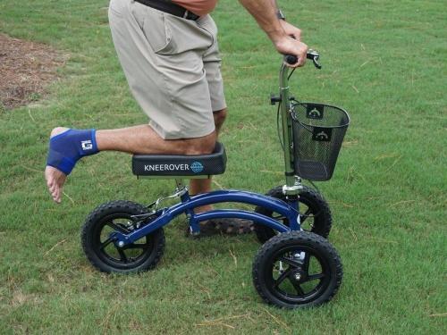 ALL TERRAIN KNEEROVER® STEERABLE KNEE SCOOTER - Rental - Innovations in Mobilty